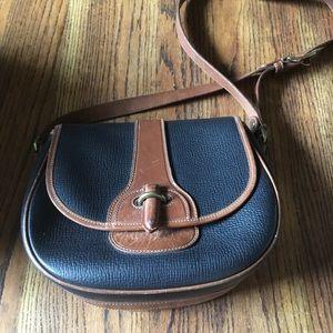 Vintage large Coach saddle bag